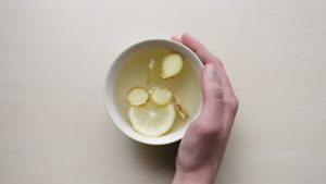 citrus fruits in a warm drink, a healthy choice for your eyes